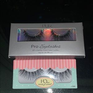 House of lashes and pur lashes